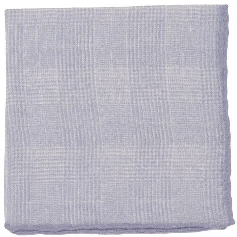 Wool Glen Plaid Square - Gray