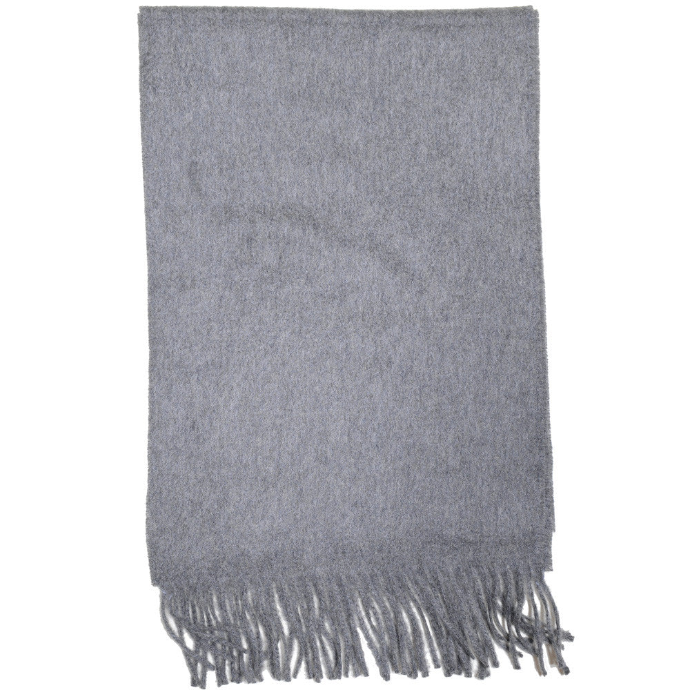 Cashmere Scarf - Gray