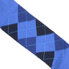 Argyle Cotton OTC Socks - Blue and Navy