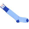 Multicolor Dot Cotton OTC Socks - Blue