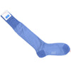Oval Cotton OTC Socks - Light Blue
