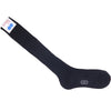 Ribbed Wool OTC Socks - Black
