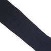 Ribbed Wool Calf Socks - Black