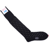Neat Cotton OTC Socks - Black