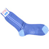 Sport Stripe Cotton Socks - Blue