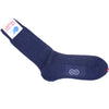 Hemp Ribbed Socks - Navy
