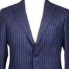 Blue Chalkstripe Flannel Suit