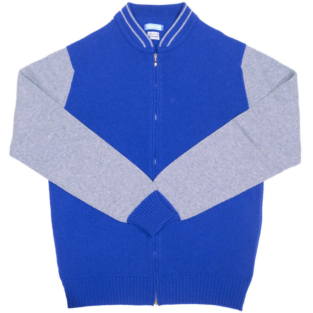 Cashmere Baseball Jacket