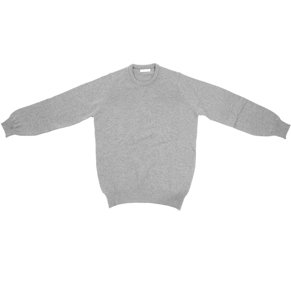 Lambswool Crewneck - Black - XS