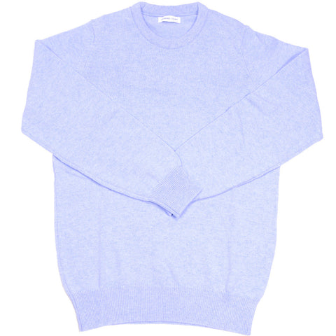 Lambswool Crewneck - Sky Blue