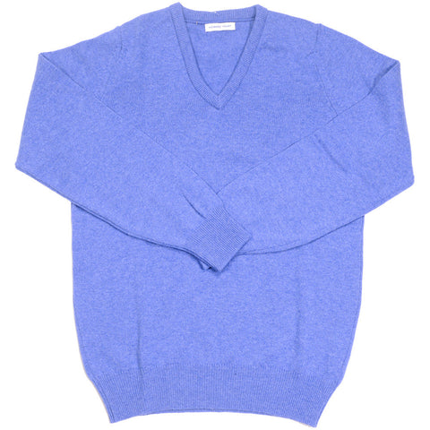 Lambswool V-Neck - Jeans