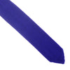 Silk Knit Tie Pointed - Violet