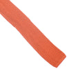 Silk Knit Tie - Orange