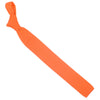 Wool Knit Tie, Flat End - Orange