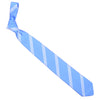 Mogador Triple Stripe Tie - Light Blue