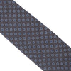 Wool Neat Flower Tie - Brown