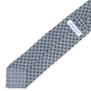 Wool Neat Flower Tie - Gray