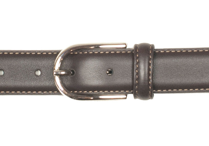 Dress Calfskin Belt - Brown