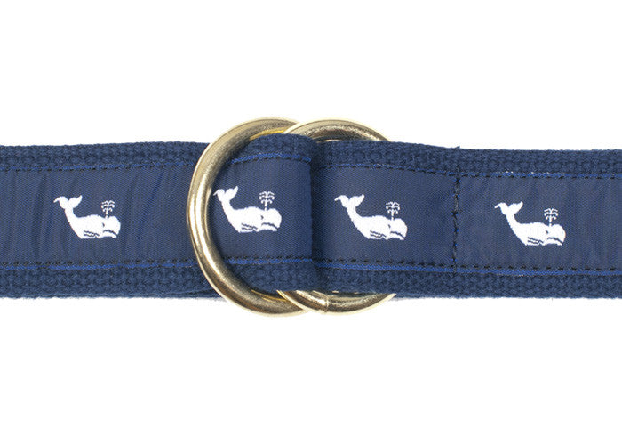 Ribbon Surcingle Belt - The White Whale