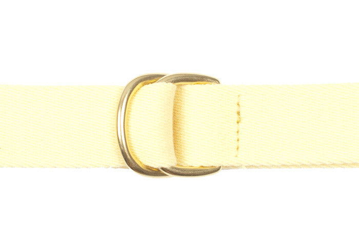 Surcingle Belt - Yellow Solid