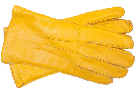 Capeskin Gloves - Golden Orange