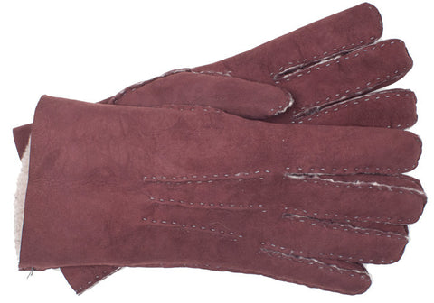 Lambskin Gloves - Red - S
