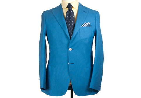 Bright Blue Jacket