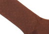 Pindot Cotton HY Calf Socks - Brown