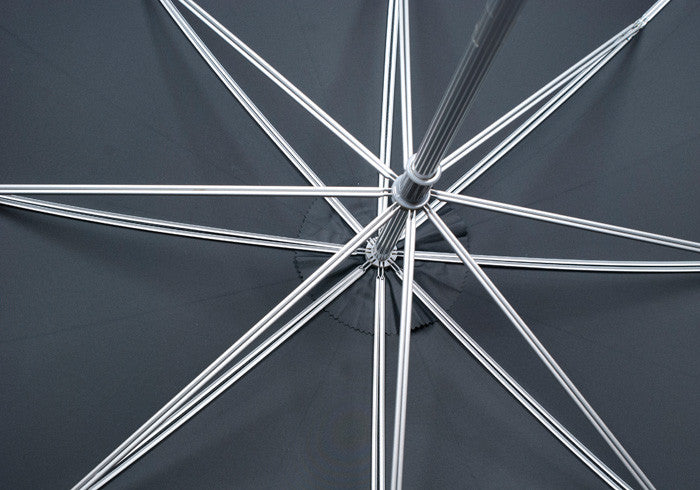 Metal Shaft Umbrella - Black Watch