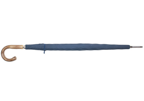 Metal Shaft Umbrella - Navy