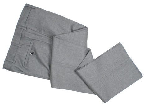 Super 120s Wool Pants - Mid Gray