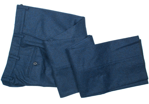 Lambswool Flannel Pants - Blue