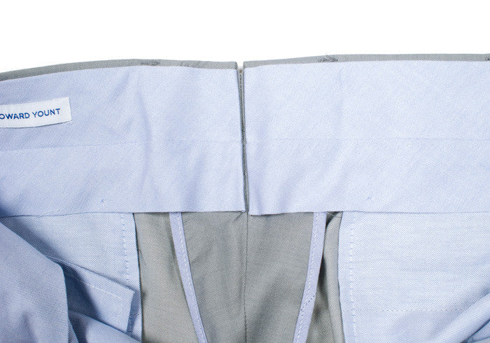 Irish Linen Pants - USA - Blue