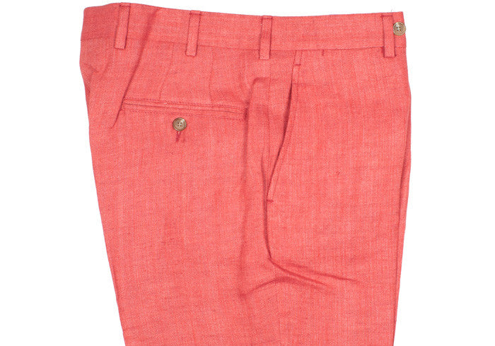 Irish Linen Pants - USA - Red
