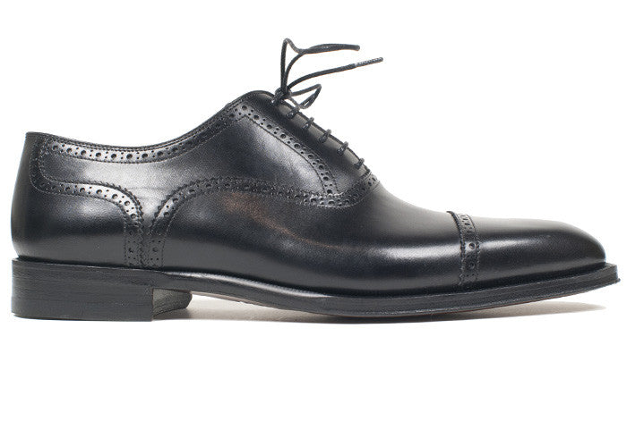Black Calf Captoe Brogues