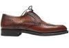 Cognac Pebble Grain Brogues