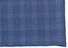 Silk Grid Plaid Pocket Square - Navy