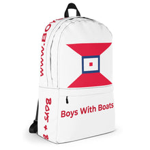 Backpack (Red Lettering)