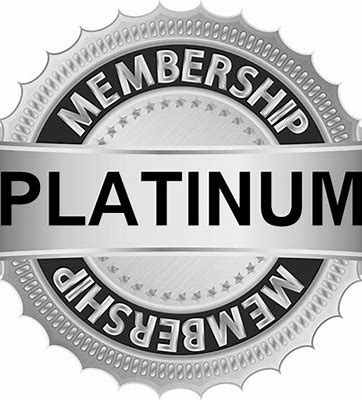1 Year Platinum Membership
