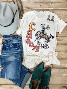 Retro Cowboys Tee - Ranch-Land Western Store
