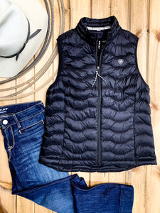 Ariat Black Ideal 3.0 Down Vest - Ranch-Land Western Store