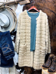 Beige Mohair Cardigan - Ranch-Land Western Store