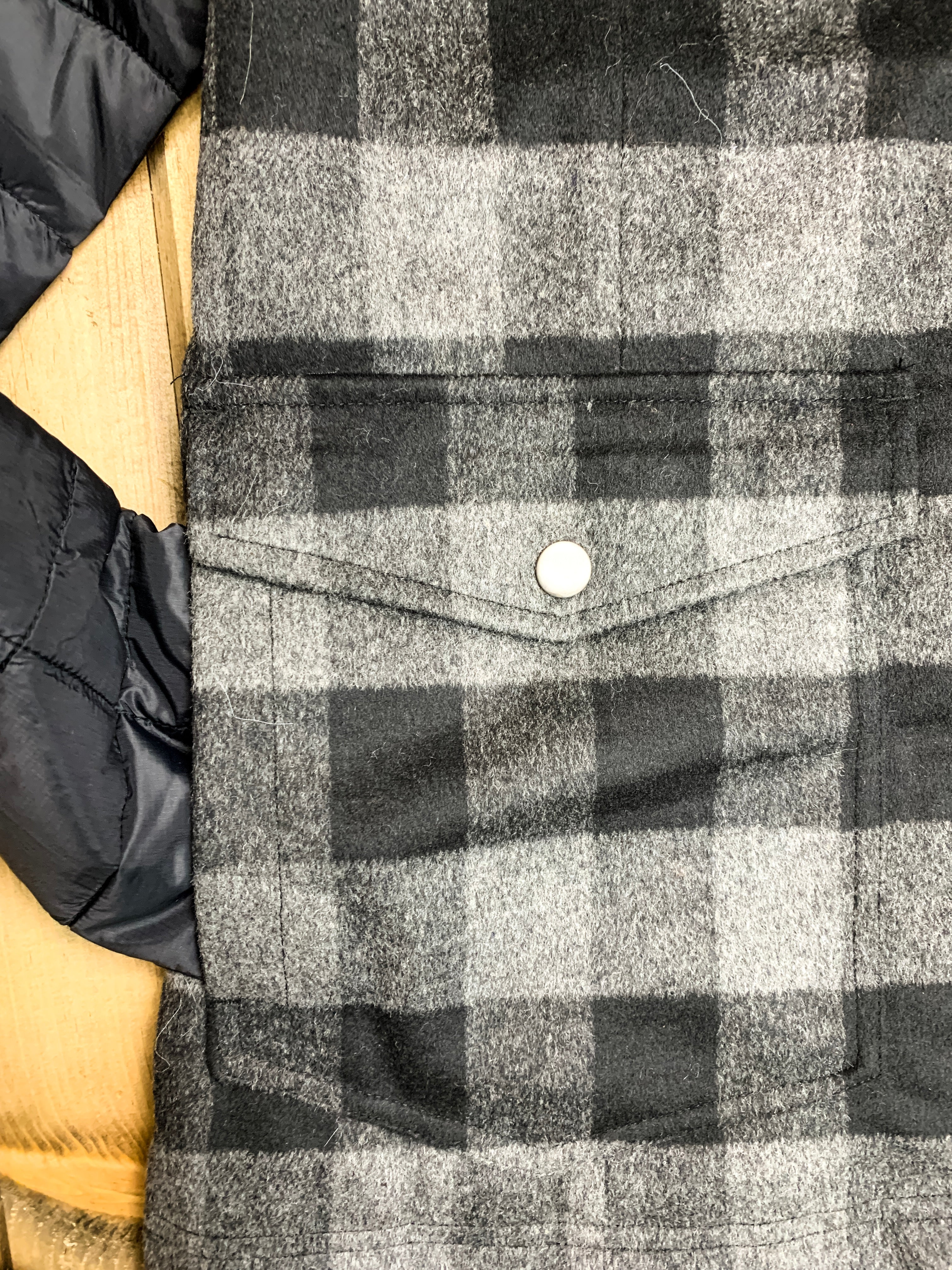 Roper Wool Plaid Poly Fill Jacket - Ranch-Land Western Store