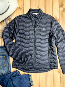 Ariat Black Ideal 3.0 Down Jacket - Ranch-Land Western Store
