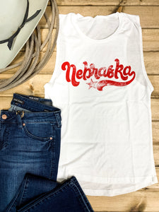 Throwback Nebraska Tank - Ranch-Land Western Store