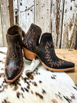 Ariat Weathered Brown Dixon Bootie - Ranch-Land Western Store
