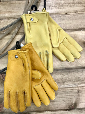 Heavy Elkskin Geier Work Gloves - Ranch-Land Western Store