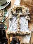 Tasha Polizzi Heather Grey Luxe Vest - Ranch-Land Western Store