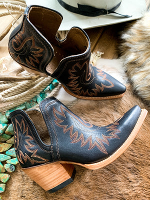 Ariat Brooklyn Black Dixon Bootie