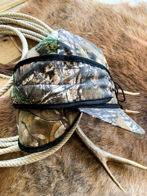 Camoflage Canvas Railroad Cap